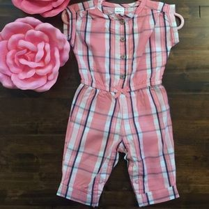 Carter's Baby Girl Pants-Romper 3 Months•EUC